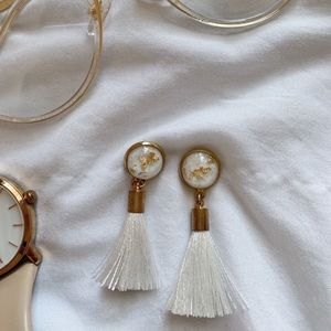 2 PAIR - Tassel earrings